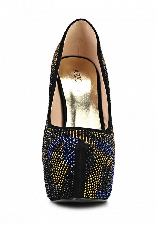 Туфли на шпильке ARZOmania 1869-8 black: изображение 4
