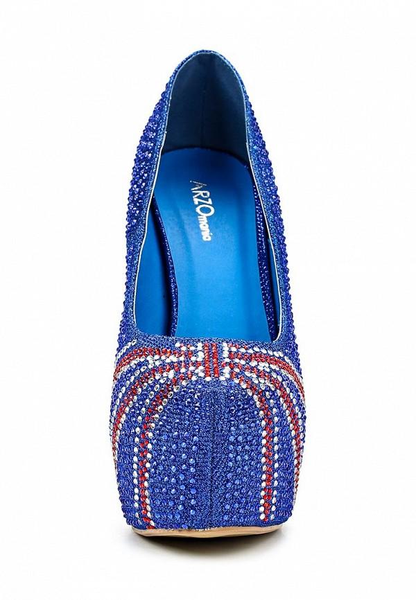 Туфли на каблуке ARZOmania 188-K5 blue: изображение 17