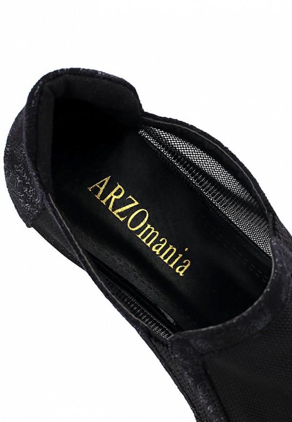 фото Слипоны женские ARZOmania AR204AWBGU90, черные