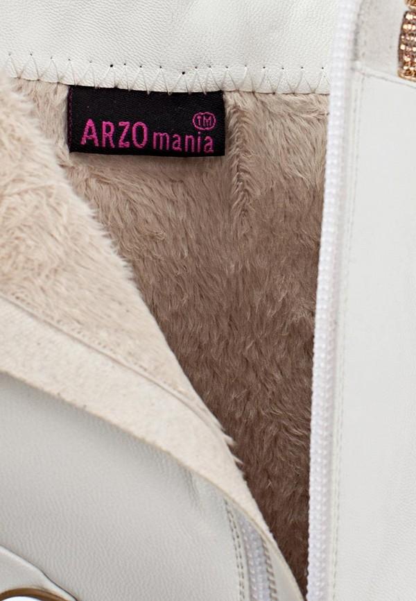 фото Ботильоны на платформе и каблуке ARZOmania AR204AWJL239, белые