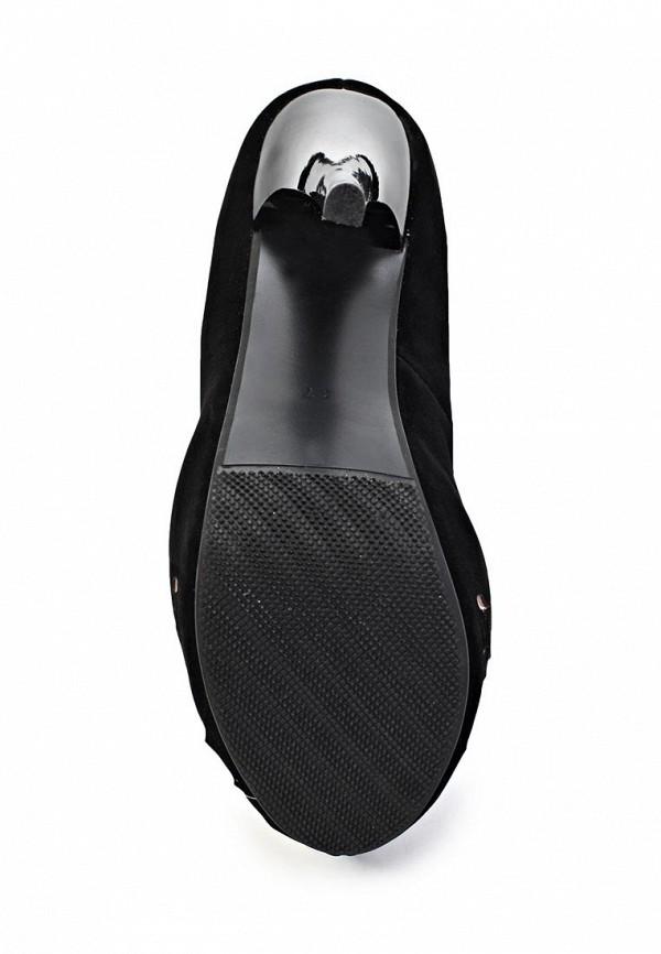 фото Туфли на платформе ARZOmania AR204AWJL375, черные/каблук