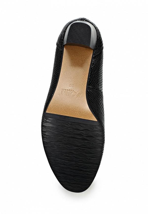 Туфли на каблуке Ascalini T10154BK: изображение 4