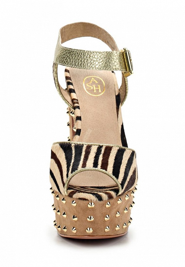 Босоножки на каблуке Ash (Аш) BEAUTY BIS: изображение 9