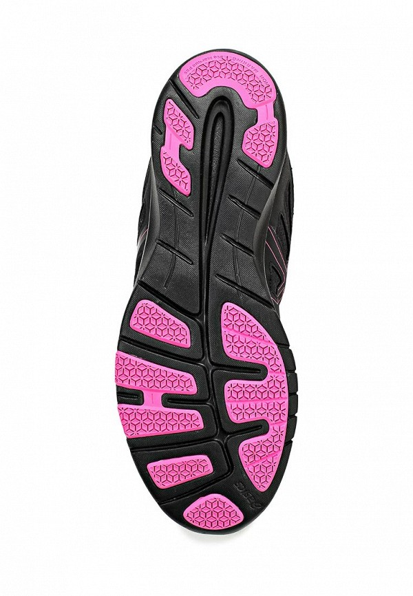 фото Кроссовки женские Asics AS455AWAAW25, черные с розовым