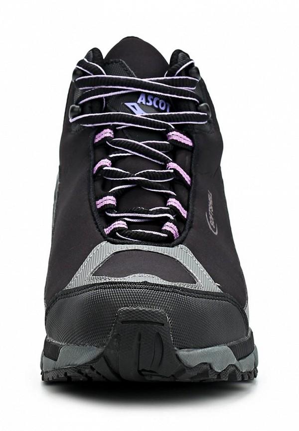 фото Ботинки женские спортивные Ascot AS821AWCLH36, черные