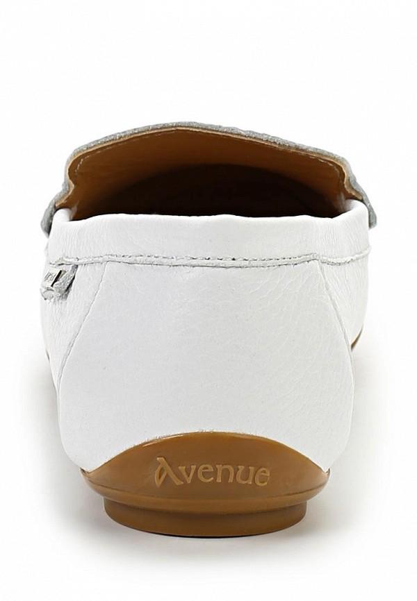 фото Мокасины женские Avenue by Giotto AV439AWASL06, белые кожаные