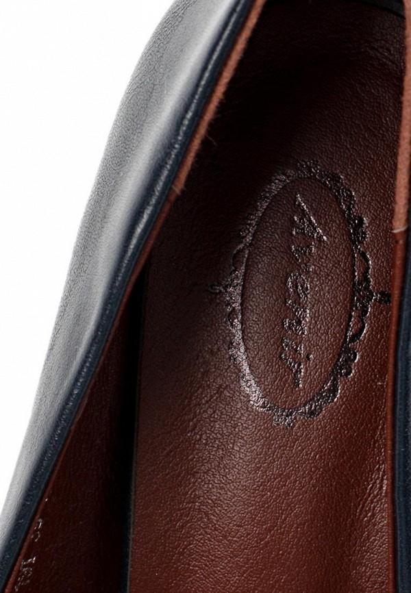 фото Туфли на толстом каблуке Avenir AV929AWCNB66, черные кожаные