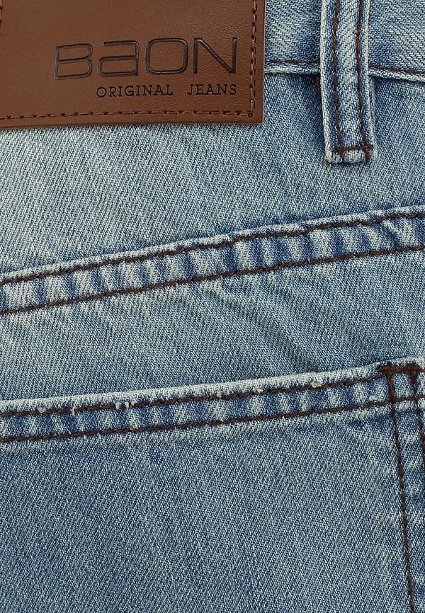 Мужские прямые джинсы Baon (Баон) B804013: изображение 4