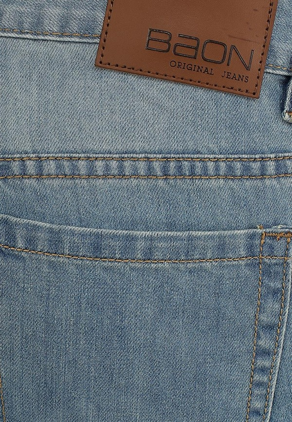 Мужские прямые джинсы Baon (Баон) B804015: изображение 5
