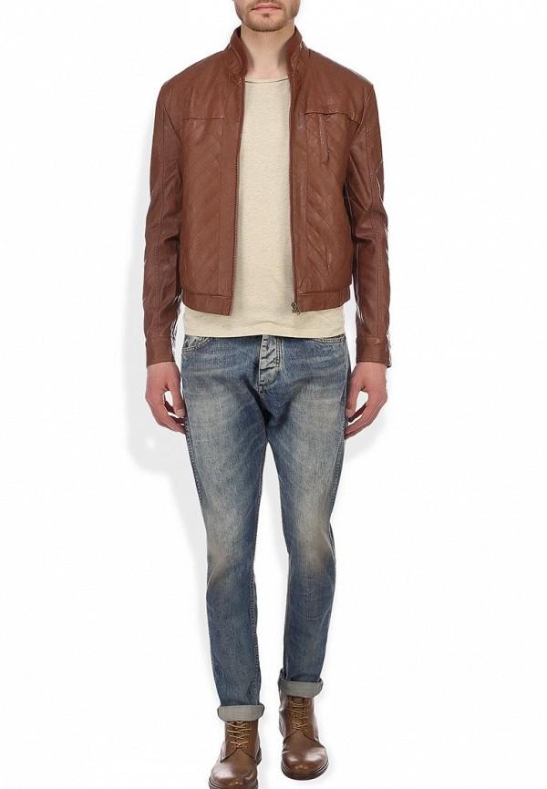 Кожаная куртка Baon (Баон) B534018: изображение 4