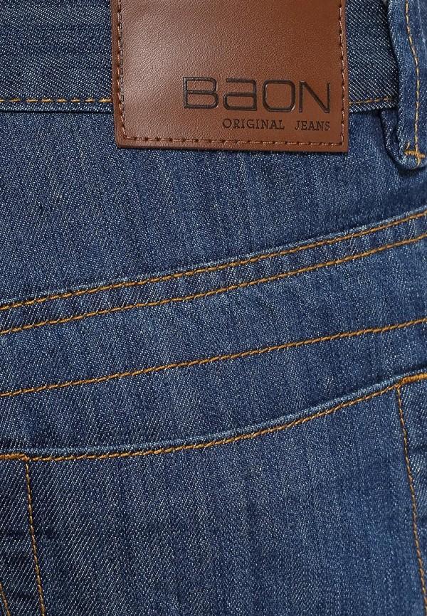Мужские прямые джинсы Baon (Баон) B804501: изображение 5
