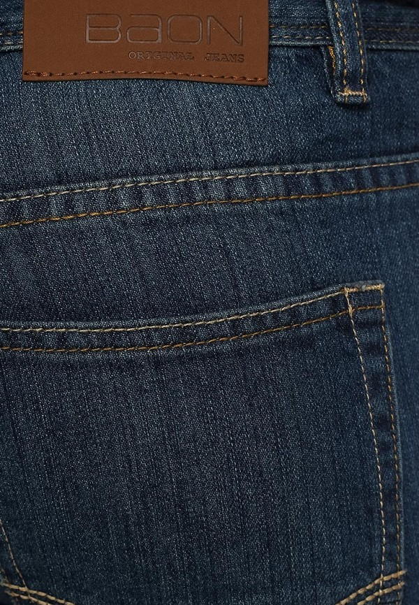 Мужские прямые джинсы Baon (Баон) B804511: изображение 4