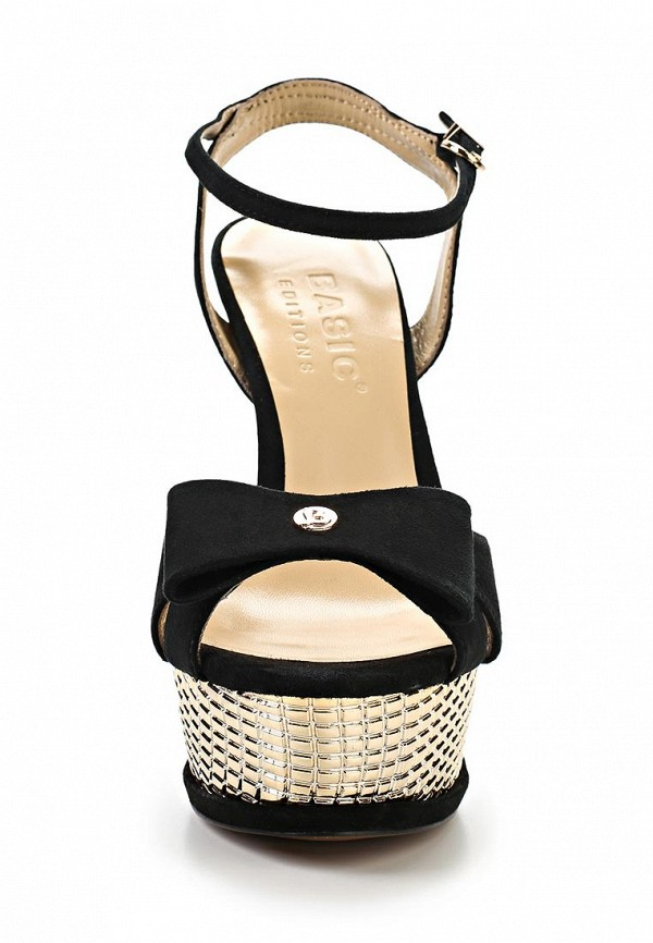 Босоножки на каблуке Basic 68982: изображение 4