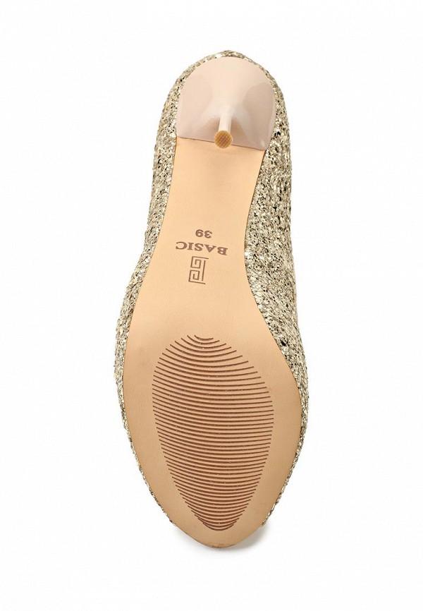 Туфли на каблуке Basic 68939: изображение 3
