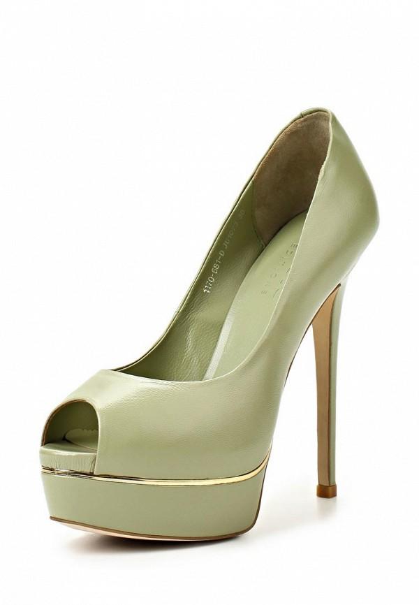 Туфли на каблуке Basic 69184: изображение 2