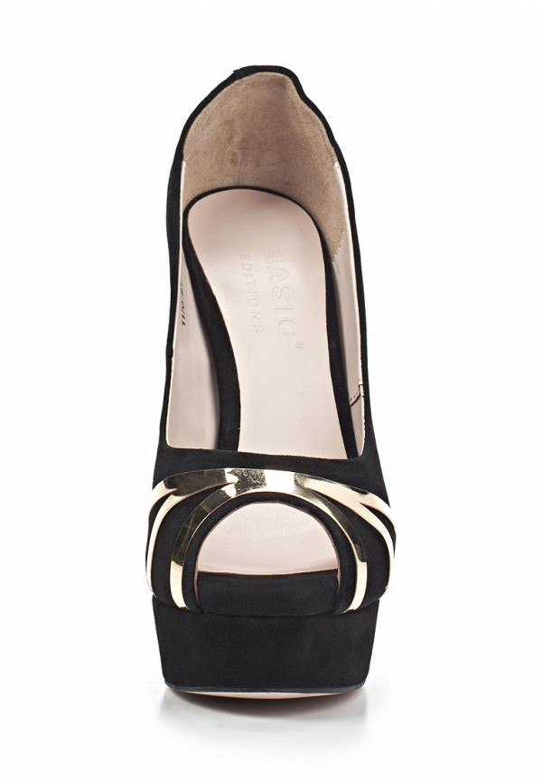 Туфли на каблуке Basic 69181: изображение 7