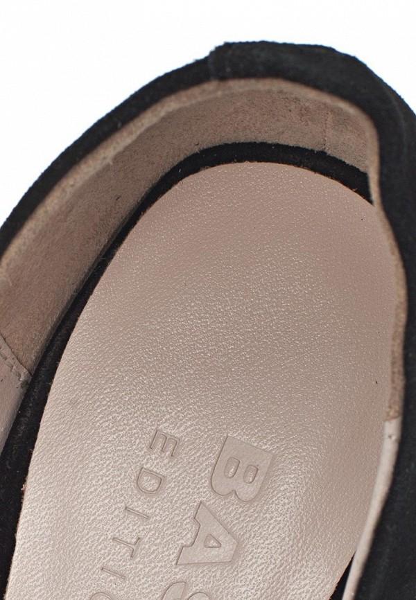 фото Туфли на платформе и высоком каблуке Basic BA009AWAAO15, черные