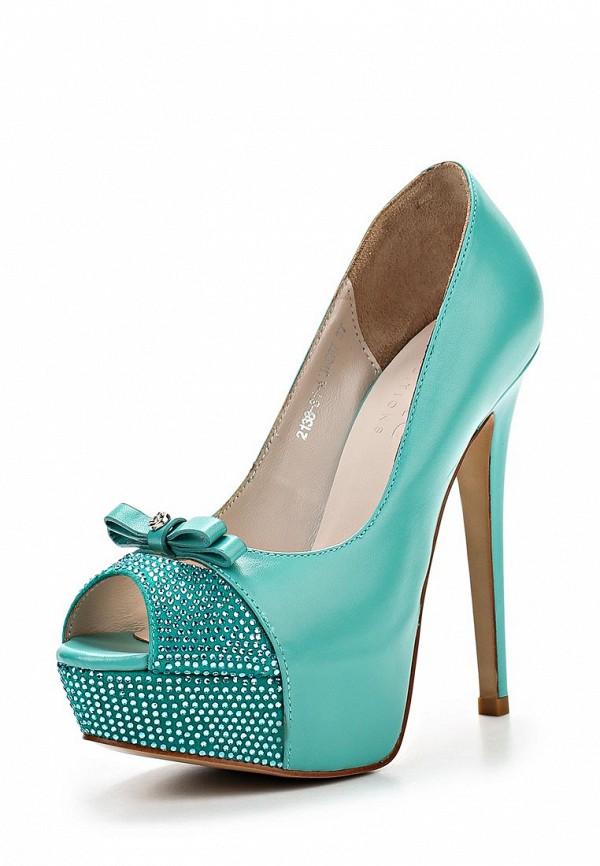 Туфли на каблуке Basic 69001: изображение 2