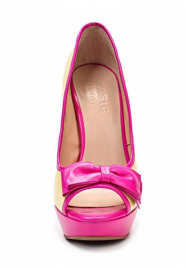 Туфли на шпильке Basic 1268B-33: изображение 4