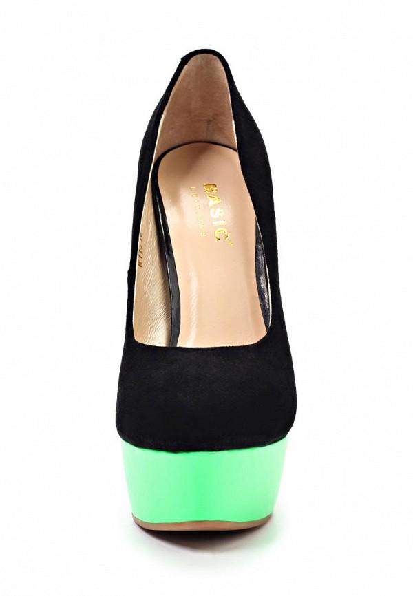 Туфли на каблуке Basic 1123B-1-: изображение 4