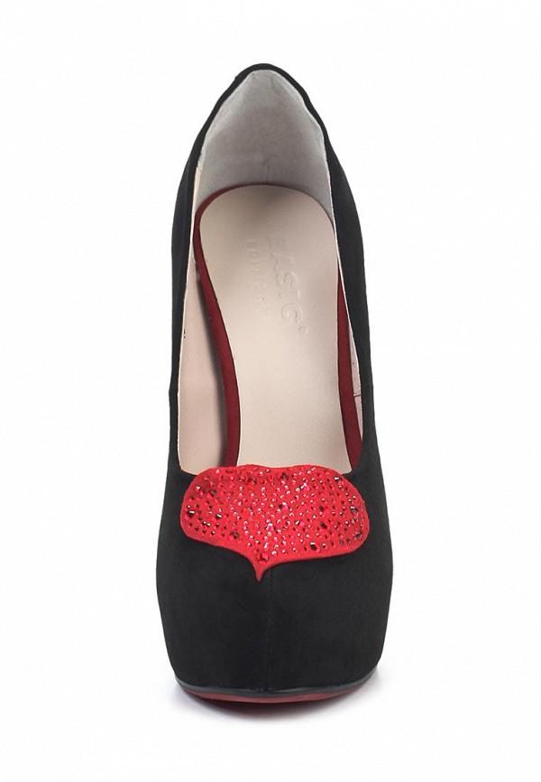 Туфли на каблуке Basic 1642A-80: изображение 4