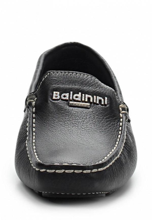 фото Мокасины женские Baldinini BA097AWAKO95, черные кожаные