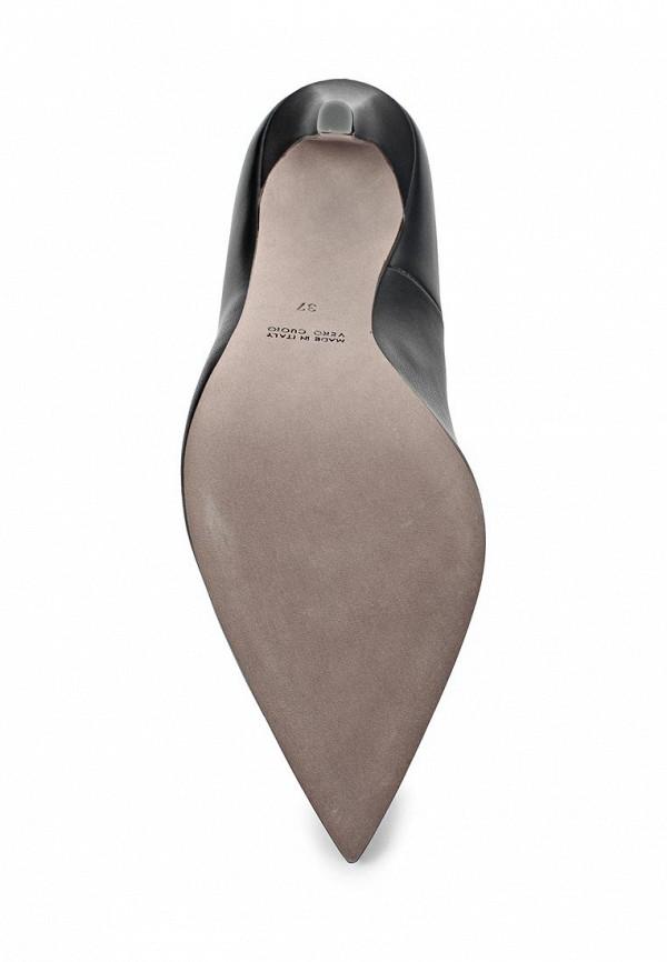 фото Женские туфли на каблуке Baldan BA519AWARI07, черные кожаные