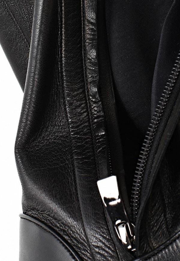 фото Ботфорты на плоской подошве Baldan BA519AWCEH38, черные кожаные