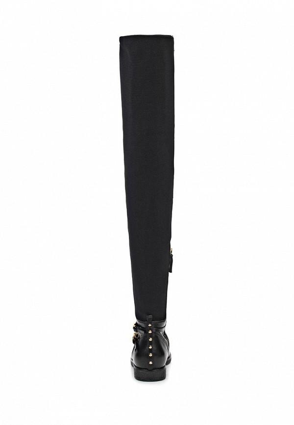 фото Женские сапоги-ботфорты Baldan BA519AWIW730, черные без каблука