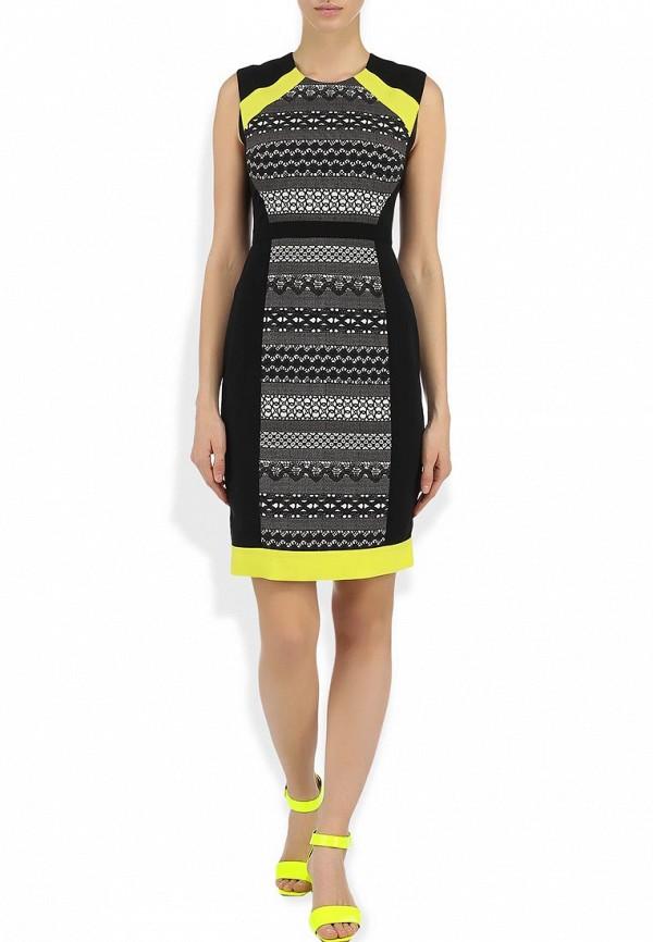 Платье-миди BCBGMAXAZRIA AHK62A47: изображение 6