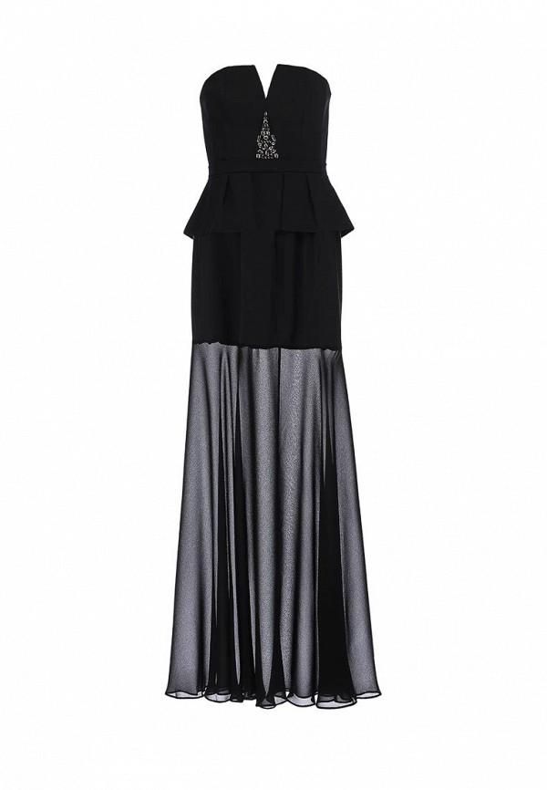 Платье-макси BCBGMAXAZRIA XVR62B58: изображение 2