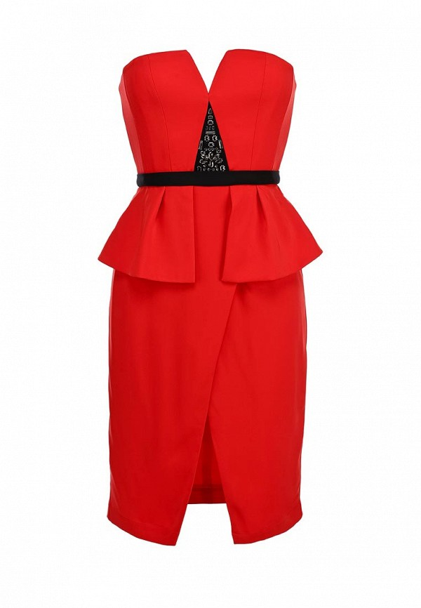 Платье-мини BCBGMAXAZRIA XVR67B98: изображение 2