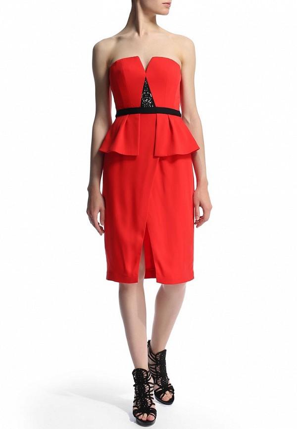 Платье-мини BCBGMAXAZRIA XVR67B98: изображение 7