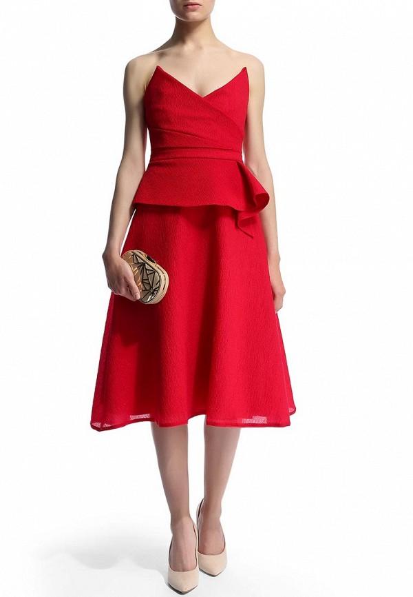 Платье-миди BCBGMAXAZRIA EXN66B27: изображение 7