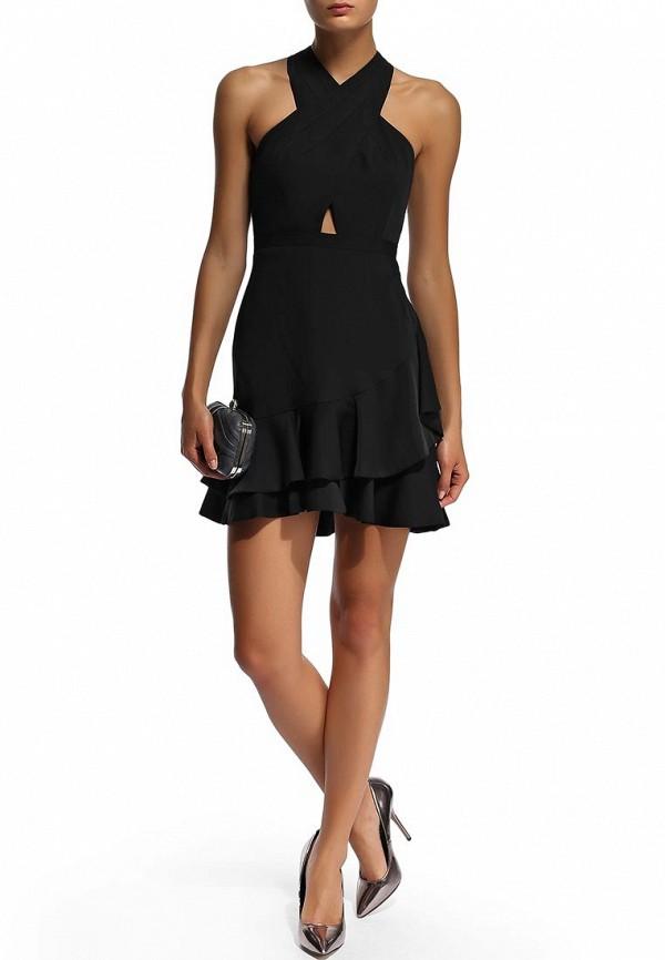 Платье-миди BCBGMAXAZRIA XVR64B30: изображение 11