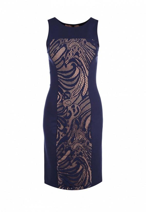 Платье-миди BCBGMAXAZRIA FRH6X579: изображение 1