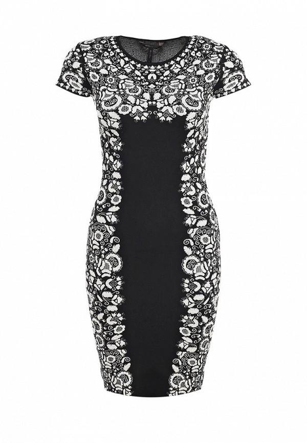Платье-миди BCBGMAXAZRIA VEG6Y455: изображение 1