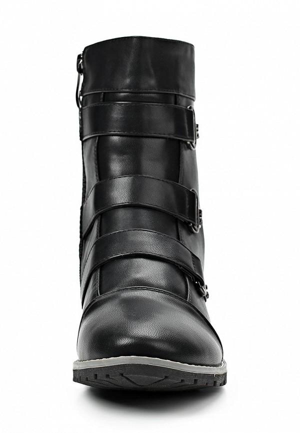 фото Женские полусапожки без каблука Betsy BE006AGCGM23, черные