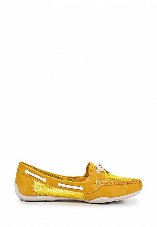 фото Мокасины женские Betsy BE006AWAKK25, желтые/шнурок