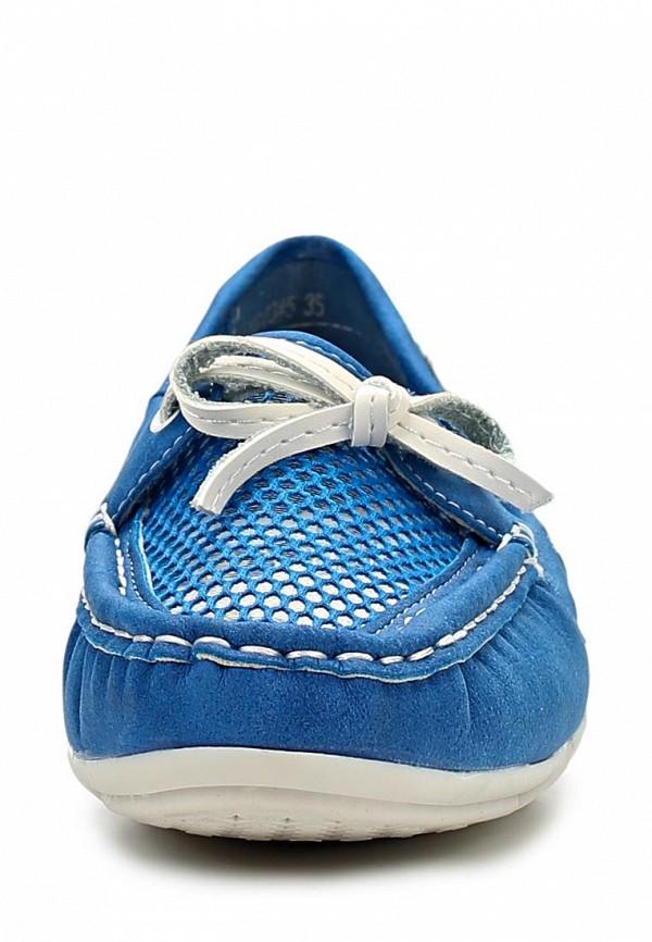 фото Мокасины женские Betsy BE006AWAKK27, голубые со шнурком