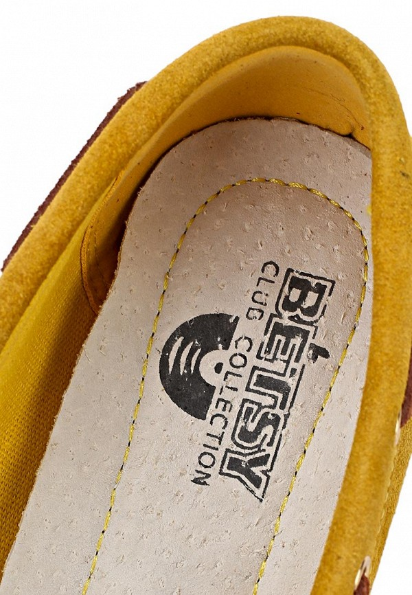 фото Мокасины женские Betsy BE006AWAKK32, желтые со шнурками