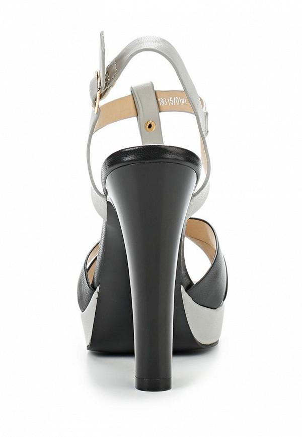 фото Босоножки на толстом каблуке Betsy BE006AWAKM46, серые/черные