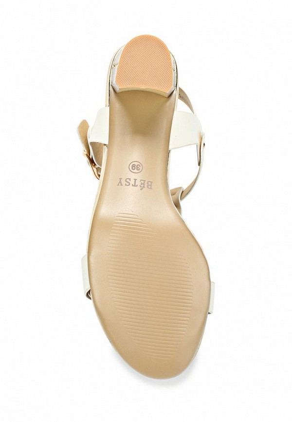 фото Босоножки на толстом каблуке Betsy BE006AWBOL25, белые