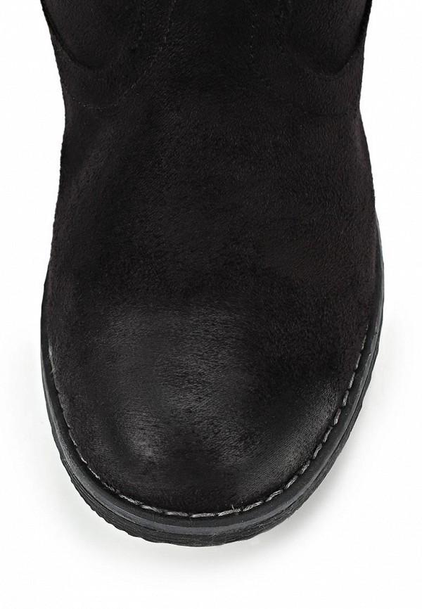 фото Женские полусапожки без каблука Betsy BE006AWCGP08, черные