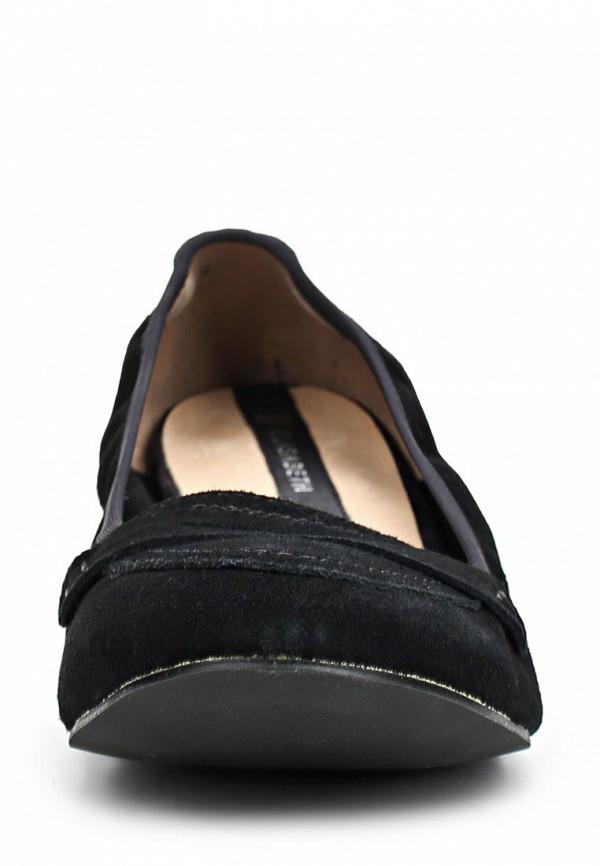 фото Лоферы на низком каблуке J&Elisabeth BE006AWCGQ67, черные