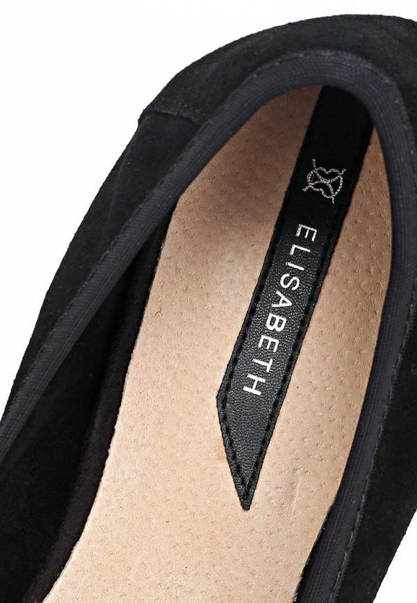фото Лоферы на каблуке J&Elisabeth BE006AWCGQ70, черные