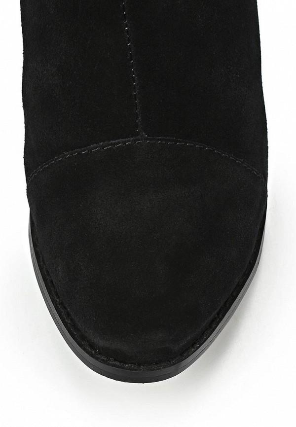 фото Сапоги женские на плоской подошве Betsy BE006AWCGR07, черные (замша)