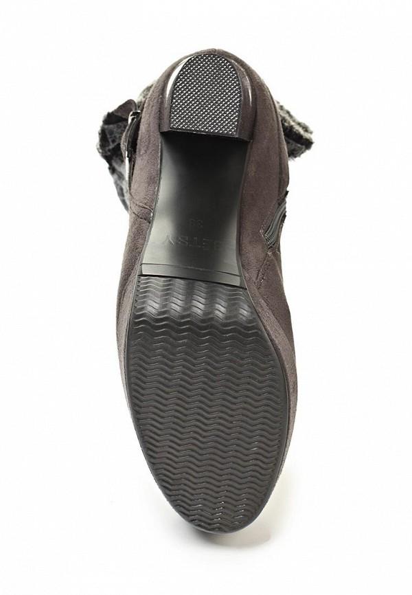 фото Ботильоны на платформе Betsy BE006AWCZ787, серые/толстый каблук