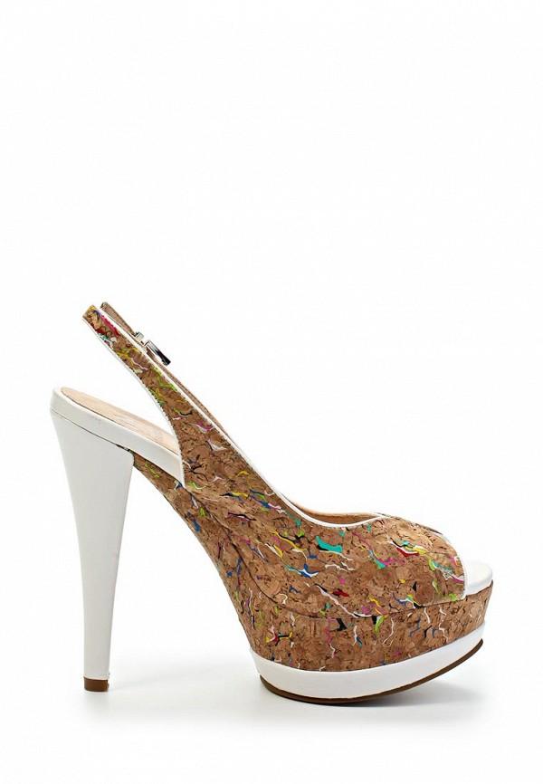фото Босоножки на каблуке Betsy BE006AWFX083, бежевые/мультицвет