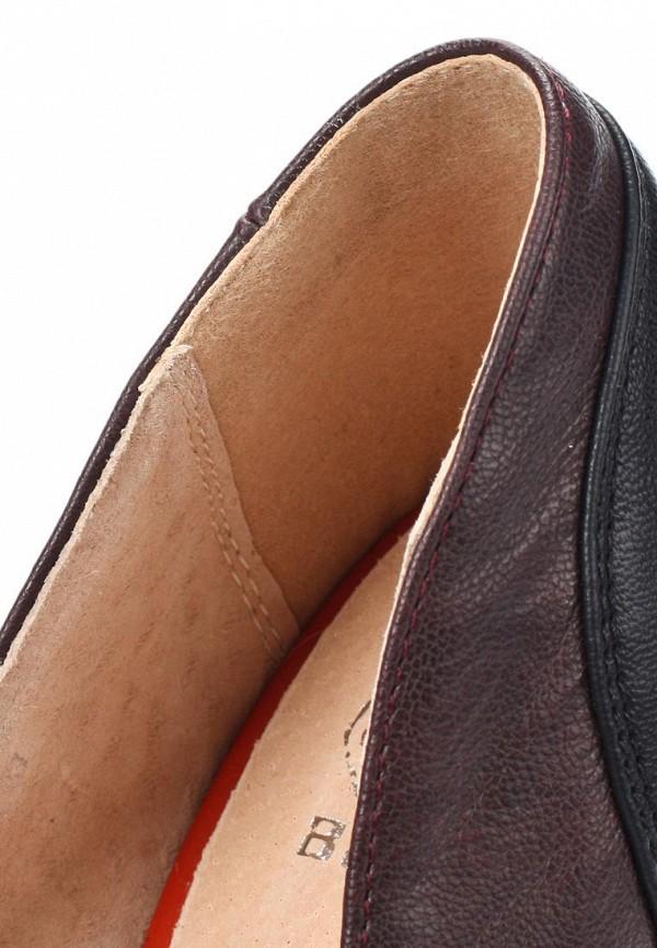 фото Туфли женские на платформе Betsy BE006AWJJ834, коричневые/каблук